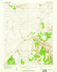 Heaton Knolls, Arizona 1954 (1959) USGS Old Topo Map Reprint 15x15 AZ Quad 314667