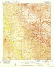 Holy Joe Peak, Arizona 1949 (1952) USGS Old Topo Map Reprint 15x15 AZ Quad 314676