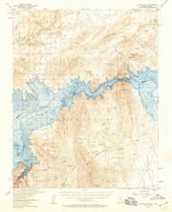 Hoover Dam, Arizona 1953 (1959) USGS Old Topo Map Reprint 15x15 AZ Quad 320983