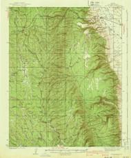 Jacob Lake, Arizona 1940 (1940) USGS Old Topo Map Reprint 15x15 AZ Quad 314700