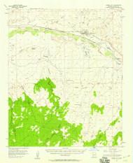 Joseph City, Arizona 1955 (1958) USGS Old Topo Map Reprint 15x15 AZ Quad 314706
