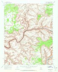 Kanab Point, Arizona 1962 (1972) USGS Old Topo Map Reprint 15x15 AZ Quad 314712