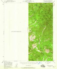 Kirkland, Arizona 1947 (1959) USGS Old Topo Map Reprint 15x15 AZ Quad 314721