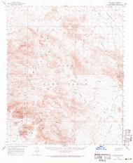 Kofa Butte, Arizona 1962 (1971) USGS Old Topo Map Reprint 15x15 AZ Quad 314728