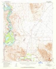 Laguna, Arizona 1955 (1962) USGS Old Topo Map Reprint 15x15 AZ Quad 314739