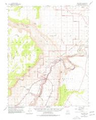 Lees Ferry, Arizona 1954 (1978) USGS Old Topo Map Reprint 15x15 AZ Quad 314747