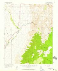 Littlefield, Arizona 1954 (1959) USGS Old Topo Map Reprint 15x15 AZ Quad 314758