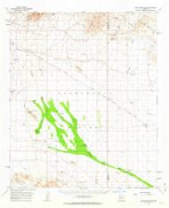 Lone Mountain, Arizona 1961 (1963) USGS Old Topo Map Reprint 15x15 AZ Quad 314765
