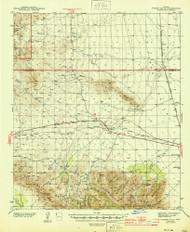 Luzena, Arizona 1944 (1944) USGS Old Topo Map Reprint 15x15 AZ Quad 314587