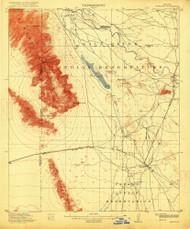 Maricopa, Arizona 1915 (1915) USGS Old Topo Map Reprint 15x15 AZ Quad 314786
