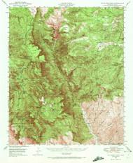 McFadden Peak, Arizona 1949 (1972) USGS Old Topo Map Reprint 15x15 AZ Quad 314791