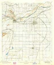 Mesa, Arizona 1915 (1938) USGS Old Topo Map Reprint 15x15 AZ Quad 314798