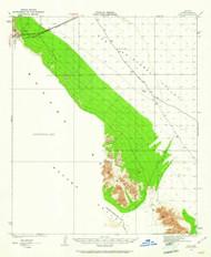 Mohawk Mountains, Arizona 1927 (1961) USGS Old Topo Map Reprint 15x15 AZ Quad 314715