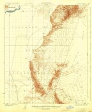 Moon Mountain, Arizona 1932 (1932) USGS Old Topo Map Reprint 15x15 AZ Quad 314815
