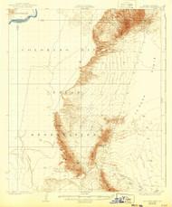 Moon Mountain, Arizona 1932 (1943) USGS Old Topo Map Reprint 15x15 AZ Quad 314814