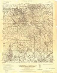 Mount Wrightson, Arizona 1922 (1922) USGS Old Topo Map Reprint 15x15 AZ Quad 464556