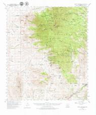 Mount Wrightson, Arizona 1958 (1979) USGS Old Topo Map Reprint 15x15 AZ Quad 314822