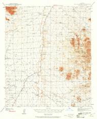 Palo Alto Ranch, Arizona 1940 (1961) USGS Old Topo Map Reprint 15x15 AZ Quad 314866