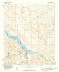 Parker Dam, Arizona 1959 (1960) USGS Old Topo Map Reprint 15x15 AZ Quad 314876