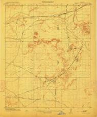 Petrified Forest, Arizona 1912 (1912) USGS Old Topo Map Reprint 15x15 AZ Quad 314895