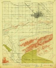 Phoenix, Arizona 1914 (1914) USGS Old Topo Map Reprint 15x15 AZ Quad 314900