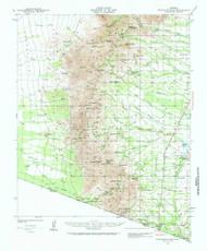Presumido Peak, Arizona 1941 (1941) USGS Old Topo Map Reprint 15x15 AZ Quad 314929