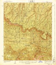 Promontory Butte, Arizona 1939 (1939) USGS Old Topo Map Reprint 15x15 AZ Quad 314933