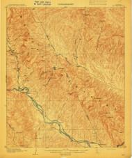 Ray, Arizona 1910 (1910) USGS Old Topo Map Reprint 15x15 AZ Quad 314946