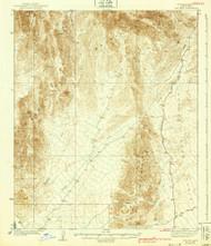 Red Hill, Arizona 1939 (1939) USGS Old Topo Map Reprint 15x15 AZ Quad 314950