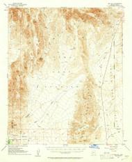 Red Hill, Arizona 1954 (1961) USGS Old Topo Map Reprint 15x15 AZ Quad 314952