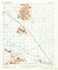 Red Rock, Arizona 1947 (1947) USGS Old Topo Map Reprint 15x15 AZ Quad 314955