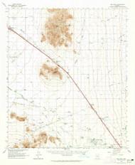 Red Rock, Arizona 1963 (1965) USGS Old Topo Map Reprint 15x15 AZ Quad 314958