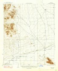 Roll, Arizona 1928 (1947) USGS Old Topo Map Reprint 15x15 AZ Quad 314853