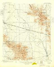 San Simon, Arizona 1962 (1971) USGS Old Topo Map Reprint 15x15 AZ Quad 315002