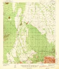 San Vicente, Arizona 1942 (1942) USGS Old Topo Map Reprint 15x15 AZ Quad 315008