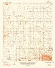 San Vicente, Arizona 1948 (1948) USGS Old Topo Map Reprint 15x15 AZ Quad 315010