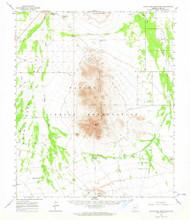 Santa Rosa Mountains, Arizona 1963 (1964) USGS Old Topo Map Reprint 15x15 AZ Quad 315016