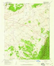 Shinarump, Arizona 1957 (1959) USGS Old Topo Map Reprint 15x15 AZ Quad 315034