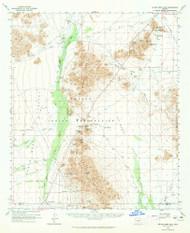 Silver Reef Mountains, Arizona 1963 (1965) USGS Old Topo Map Reprint 15x15 AZ Quad 315054
