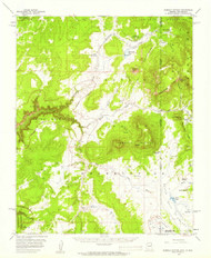 Sonsela Buttes, Arizona 1955 (1959) USGS Old Topo Map Reprint 15x15 AZ Quad 315064