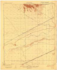 Stoval, Arizona 1930 (1930) USGS Old Topo Map Reprint 15x15 AZ Quad 704637