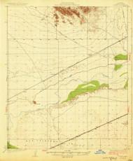 Stoval, Arizona 1930 (1930) USGS Old Topo Map Reprint 15x15 AZ Quad 315074