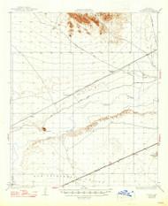 Stoval, Arizona 1930 (1947) USGS Old Topo Map Reprint 15x15 AZ Quad 315070