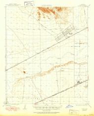 Stoval, Arizona 1930 (1950) USGS Old Topo Map Reprint 15x15 AZ Quad 315073