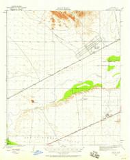 Stoval, Arizona 1950 (1958) USGS Old Topo Map Reprint 15x15 AZ Quad 315072