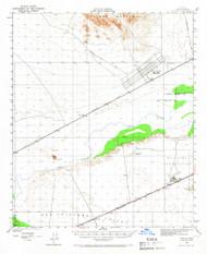 Stoval, Arizona 1950 (1966) USGS Old Topo Map Reprint 15x15 AZ Quad 315071