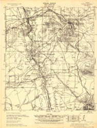Tombstone, Arizona 1932 (1932) USGS Old Topo Map Reprint 15x15 AZ Quad 464690