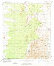 Tortolita Mountains, Arizona 1959 (1964) USGS Old Topo Map Reprint 15x15 AZ Quad 315111