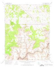 Tuckup Canyon, Arizona 1962 (1974) USGS Old Topo Map Reprint 15x15 AZ Quad 315128
