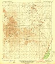 Twin Buttes, Arizona 1939 (1939) USGS Old Topo Map Reprint 15x15 AZ Quad 315139
